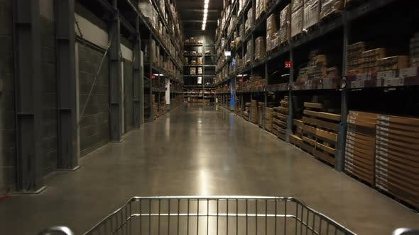 Thumbnail for Cart In Warehouse
