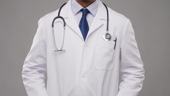 Thumbnail for Smiling Indian Male Doctor with Stethoscope 14