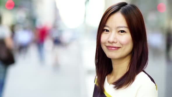 Thumbnail for Lifestyle Portrait of Young Attractive Asian Woman