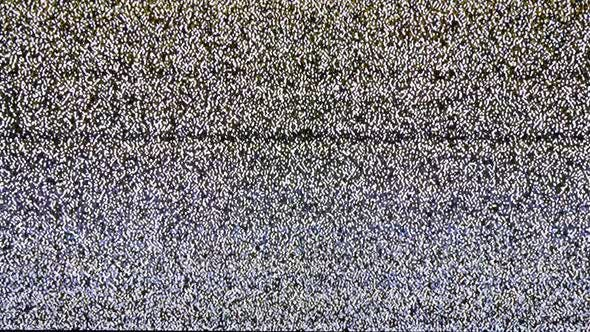 Thumbnail for Real Analog TV Noize. TV No Signal, White Noise