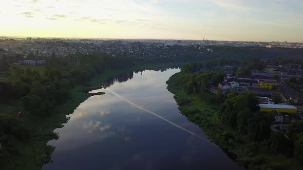 Thumbnail for Morning. Western Dvina River In Vitebsk