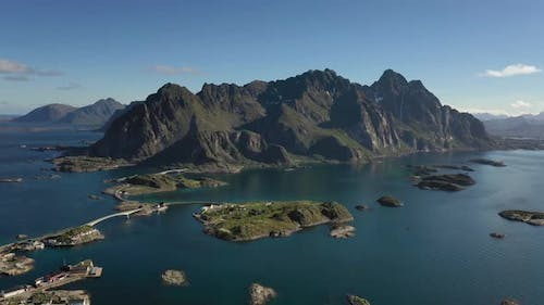 Henningsvaer Lofoten is an Archipelago in the County of Nordland, Norway