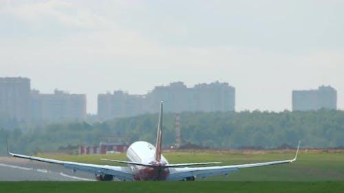Jet Airliner Landing