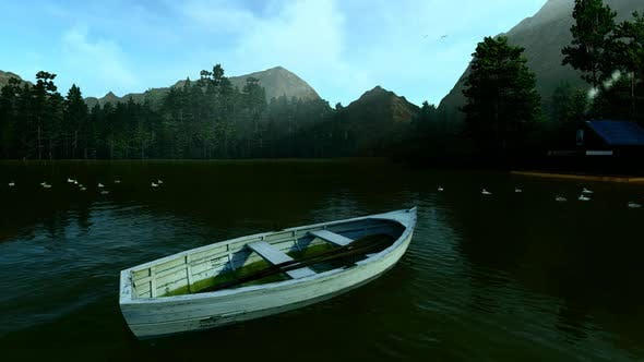 Thumbnail for Empty Boat On The Lake