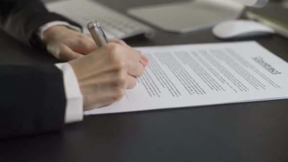 Cover Image for Signing Contract