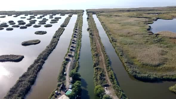 Danube Delta Aerial