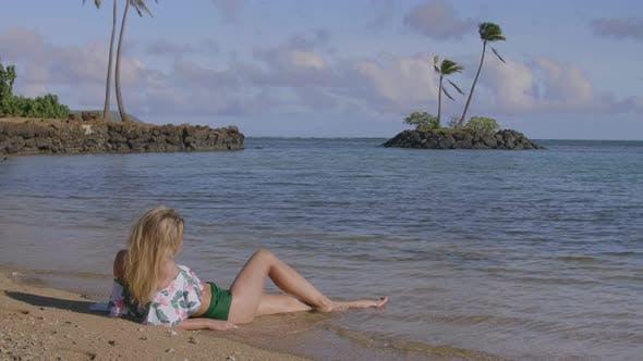 Enjoying The Ocean