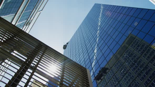 Thumbnail for Low angle view of modern buildings in Montreal