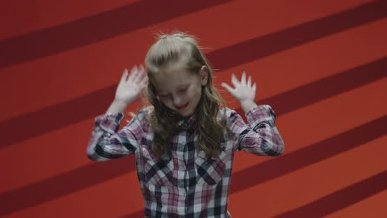 Thumbnail for Girl Dancing in Front of Camera