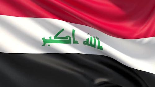 The Flag of Iraq