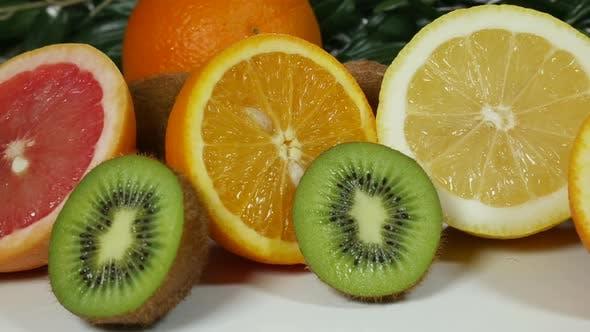 Thumbnail for Colorful Citrus And Kiwi
