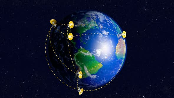 Cover Image for Radio Telescopes Connected Into Network Over Earth