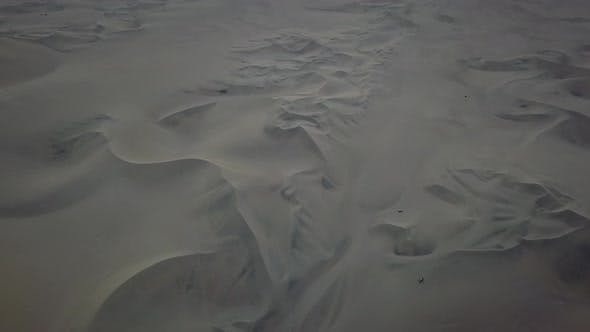 Thumbnail for Aerial view of desert in Peru.