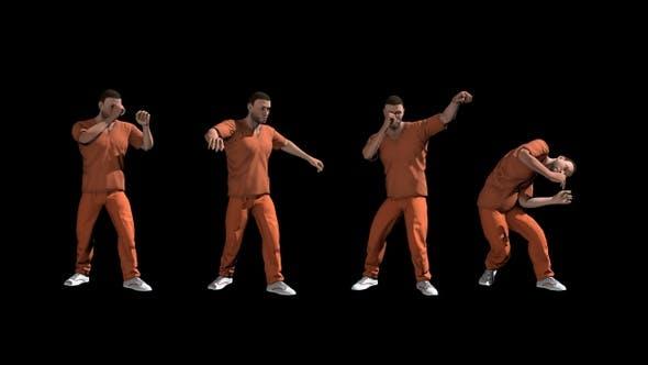 Prisoner Warming Up