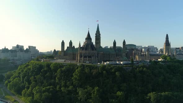 Thumbnail for Aerial of the Parliament of Canada