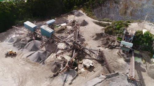 The Bulldozer At The Mine