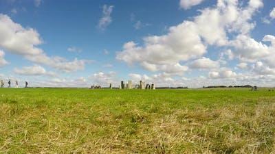 Wide Shot of Stonehenge