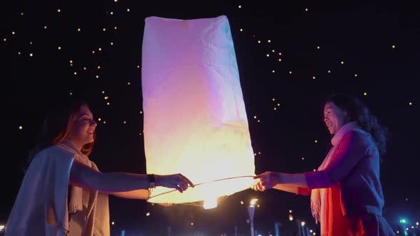 Thumbnail for Two Women Releases A Sky Lantern