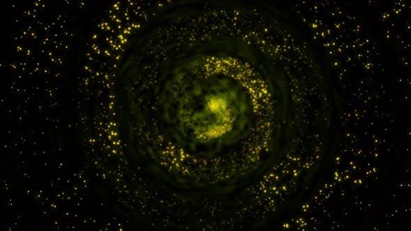 Digital Magic Particles Form Ver. 3