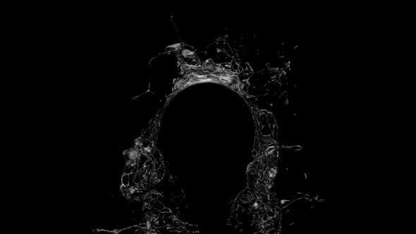 Thumbnail for Double Water Splashes - Circle Shape
