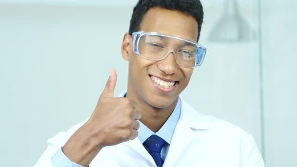 Cover Image for Thumbs Up by Afro-American Scientist, Doctor