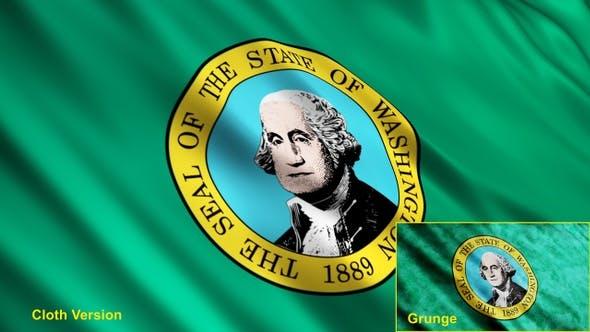Thumbnail for Washington State Flags