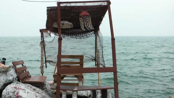 Thumbnail for Wooden Historical Fisherman Building And Sea