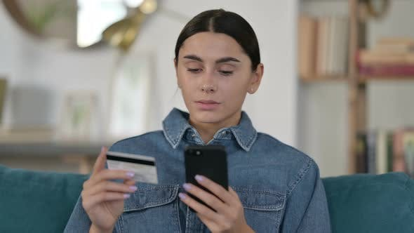 Thumbnail for Online Shopping Failure on Smartphone By Latin Woman