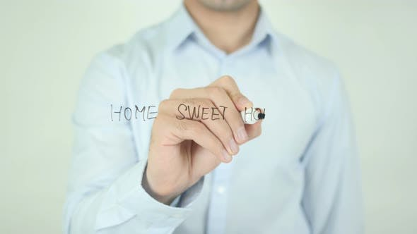 Thumbnail for Home Sweet Home, Writing On Screen