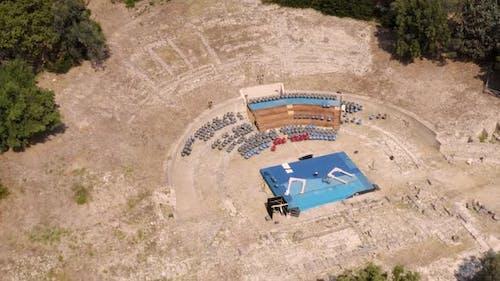 Mittelalterliches Amphitheater