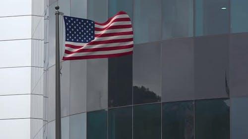 USA Flag Background 4K