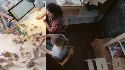 Workday at Small Craft Studio