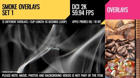 Thumbnail for Smoke Overlays (2K Set 1)