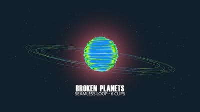 Broken Planets