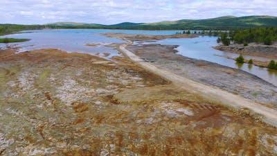 Aerial View of Dangerous Territory