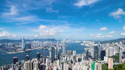Timelapse of Hong Kong urban