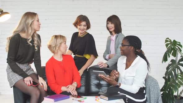 Thumbnail for Group of Female IT Professionals Working on Software