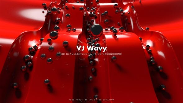 Thumbnail for VJ Wavy Motion 1