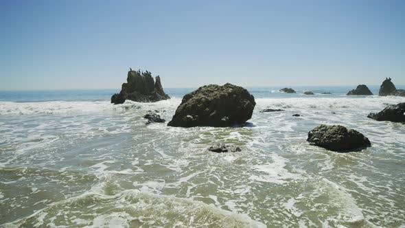 Thumbnail for Sea stacks at El Matador State Beach