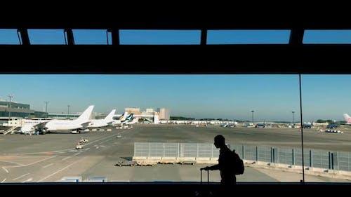 Flughafen.