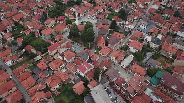 Thumbnail for Visoko, Bosnia And Herzegovina, Little Town In The Valley Of Bosnian Pyramids V1