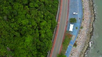 Noen Nangphaya Viewpoint in Rayong Thailand