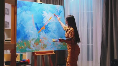 Talented Young Painter