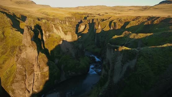 Thumbnail for Fjadrargljufur Canyon Iceland