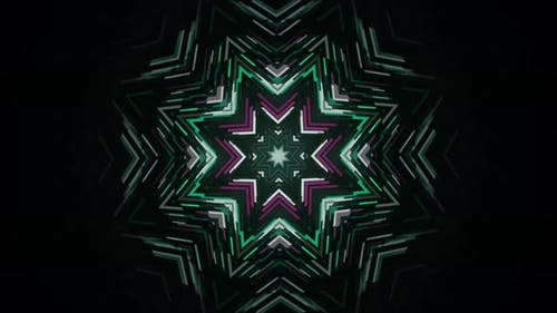 Ornamental shiny star