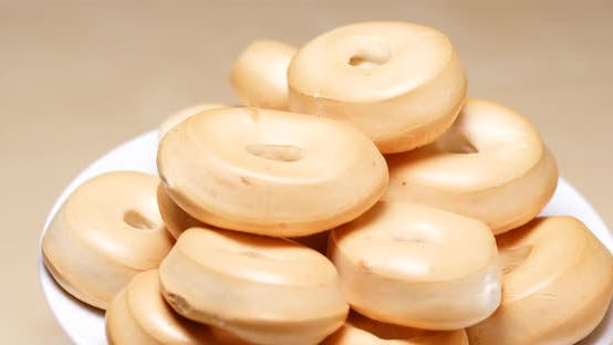 Hongkong-Stil Bubble Cookies in Rotation