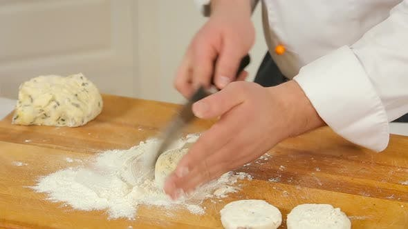 Cooking Homemade Potato Pancakes