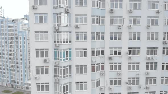 Thumbnail for Multi-storey Residential Building in Kyiv. Ukraine. Aerial View