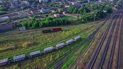 Railroad Track for Freight Trains
