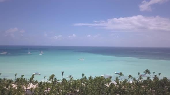 Thumbnail for Caribbean Beach Drone Blue Water